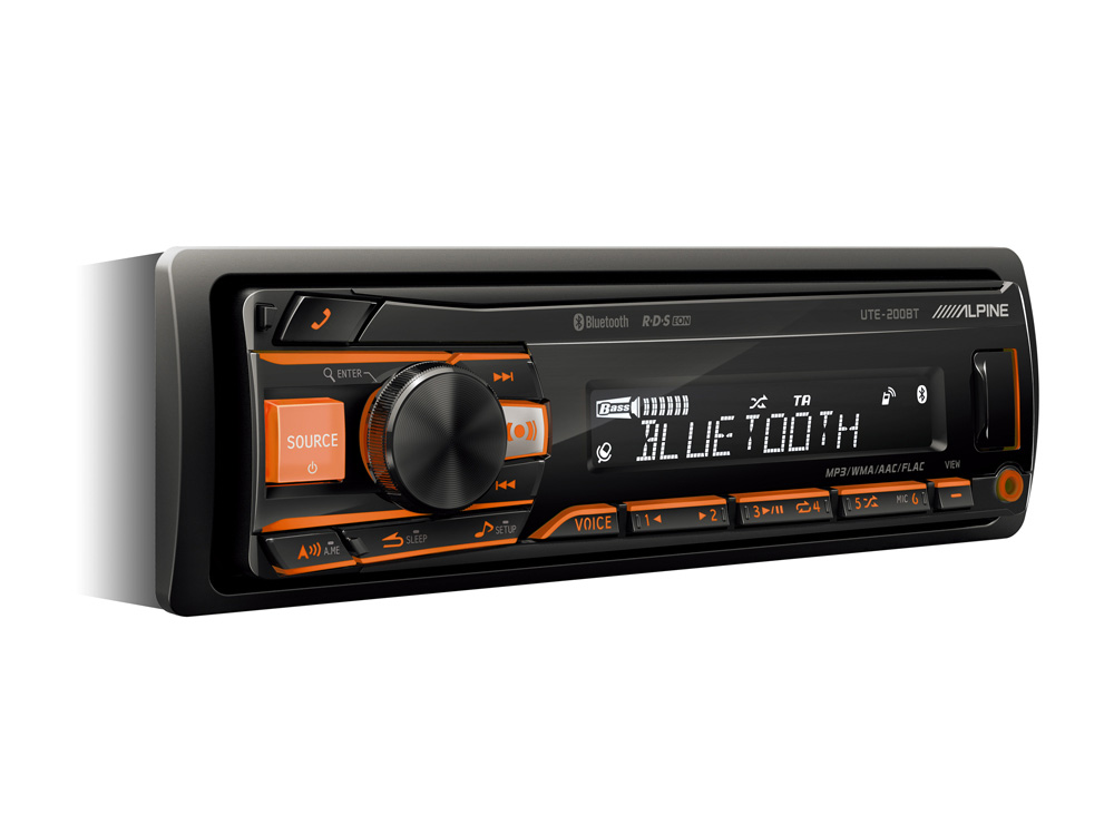 Autoradio Bluetooth Alpine Ute 200bt
