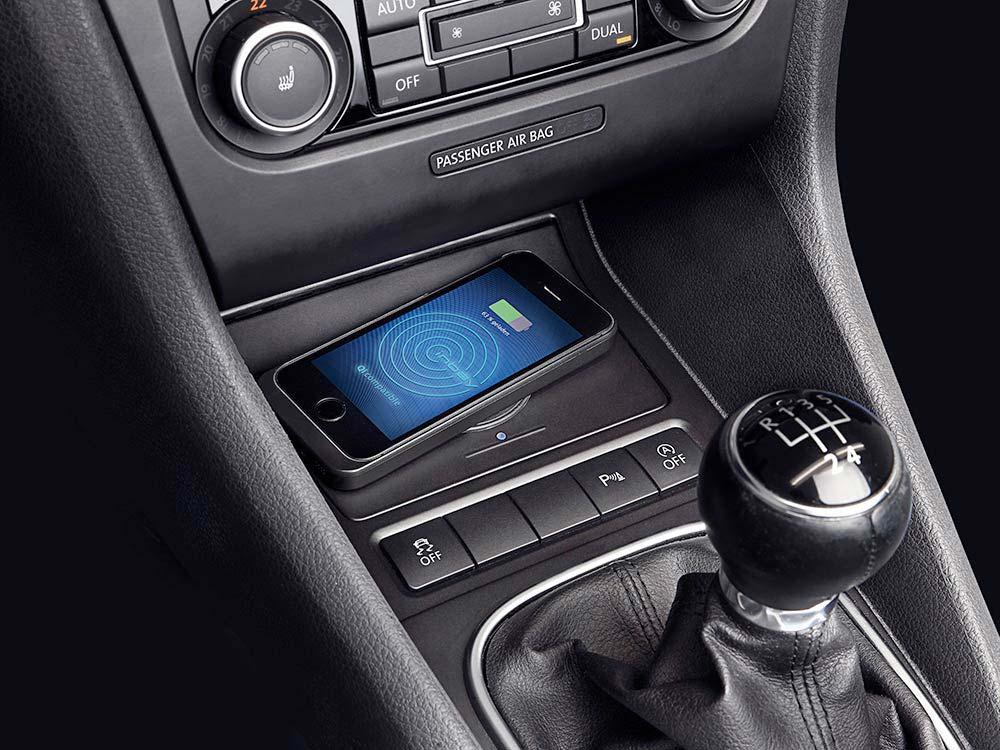 Chargeur Sans Fil Pour T 233 L 233 Phone Portable Sur Volkswagen