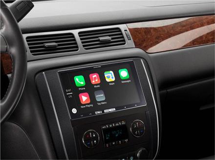 Station Multimédia Numérique Apple CarPlay - Alpine - iLX-700
