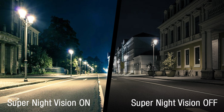 HDR Technology and Super Night Vision