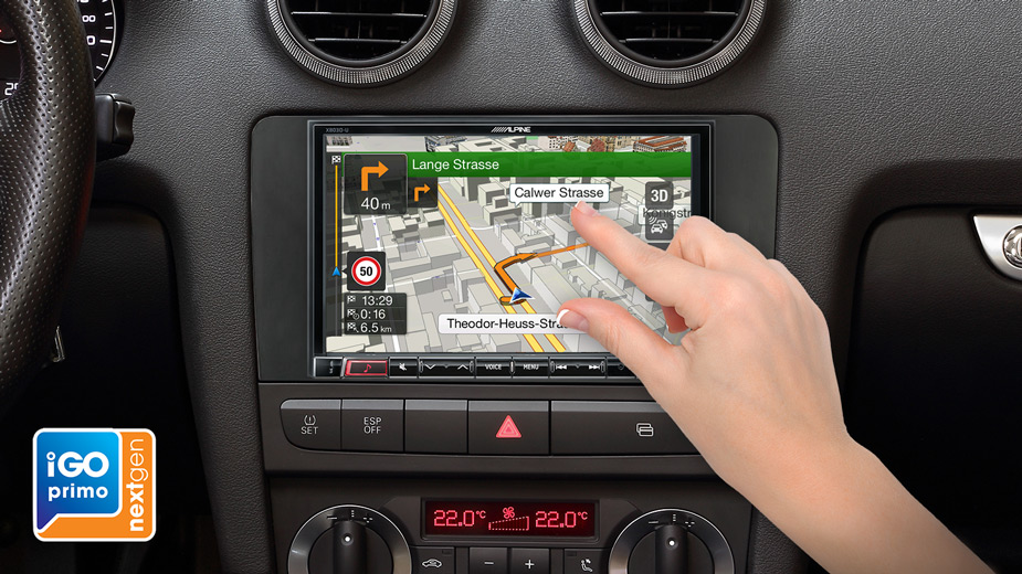 X803D-A3 integrated Navigation System designed for Audi A3