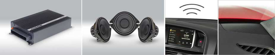 SPC-200AU - Système Audio actif premium pour Audi A5