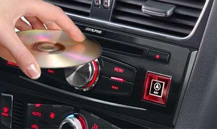 Audi A5 Evolutivité du système:  DVE-5300X - Lecteur CD/DVD