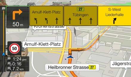 Audi A5 Systèmes de navigation: Information trafic TMC