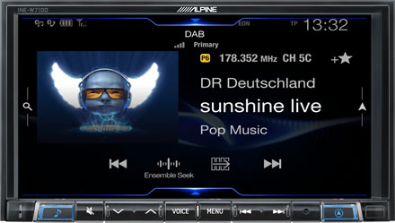 BMW 3 E46 - DAB Digital Radio - INE-W710E46