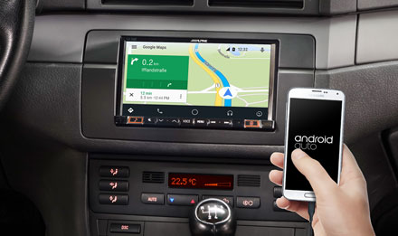 Online Navigation with Android Auto - INE-W710E46