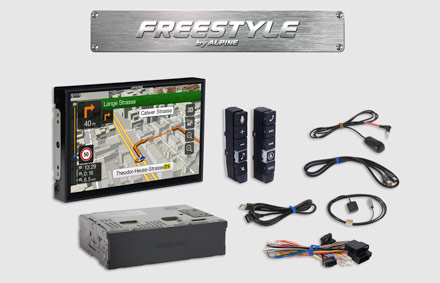 All parts included - Freestyle Navigation System X902D-F