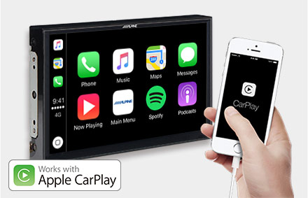 Freestyle - Works with Apple CarPlay - X902D-F