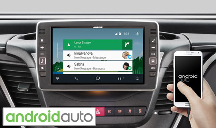 Online Navigation with Android Auto - X902D-ID