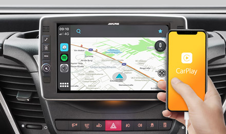 Online Navigation with Apple CarPlay - X903D-ID