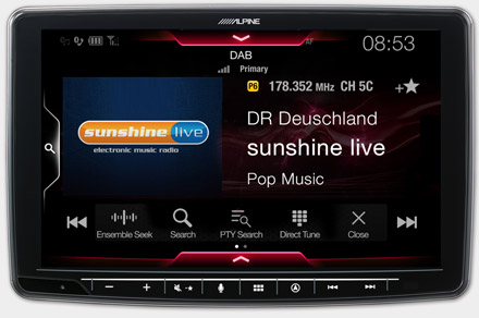 INE-F904S907 - Built-in DAB+ Digital Radio