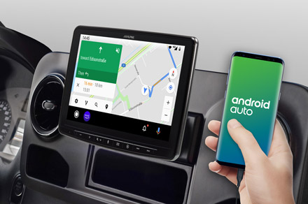 INE-F904S907 - Online Navigation with Android Auto