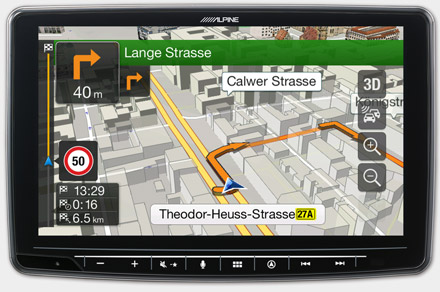Mercedes Sprinter - Navigation - 3D Maps  - INE-F904S907