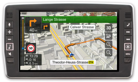 Mercedes Sprinter - Navigation - 3D Maps  - X902D-S906
