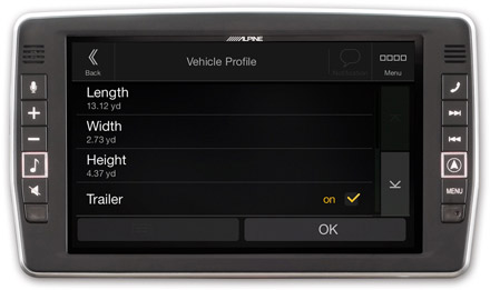 Mercedes Sprinter - Vehicle Parameter Setting