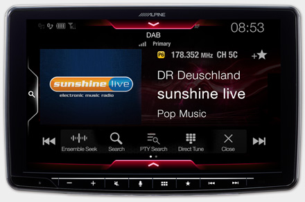 iLX-F903S907 - Built-in DAB+ Digital Radio