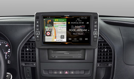 Mercedes Vito - One Look Display