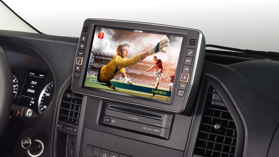 Mercedes Vito - Big Screen Entertainment - X903D-V447