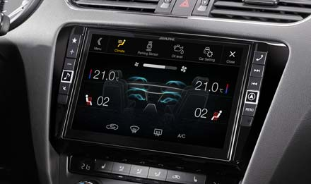 Skoda Octavia 3 - Air Condition Display - X901D-OC3