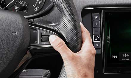 Skoda Octavia 3 Steering Wheel Remote Control Buttons X901D-OC3