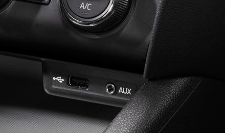 Skoda Octavia 3 - USB / AUX port