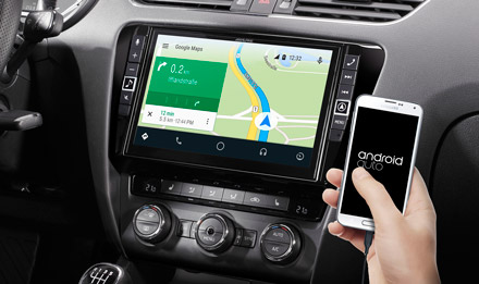 Online Navigation with Android Auto - X902D-OC3