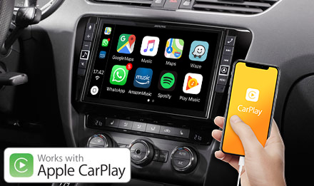Skoda Octavia 3 - Works with Apple CarPlay - X903D-OC3
