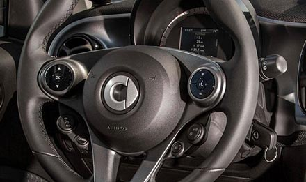 Supports basic functions of original Steering Wheel Control Buttons