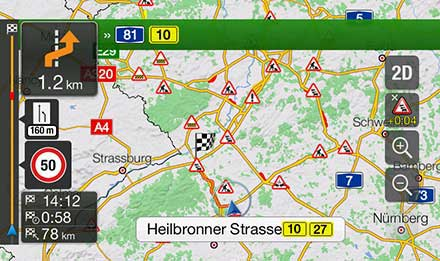 Golf 6 - Navigation - Plan Your Route  - X901D-G6