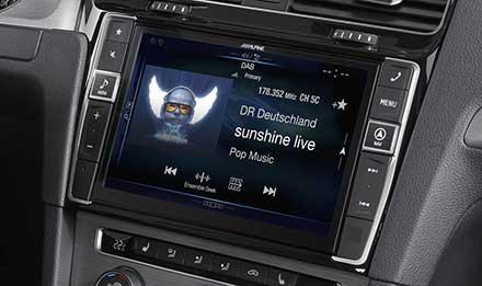 Navigation Premium Alpine Style Pour Golf 7 Alpine