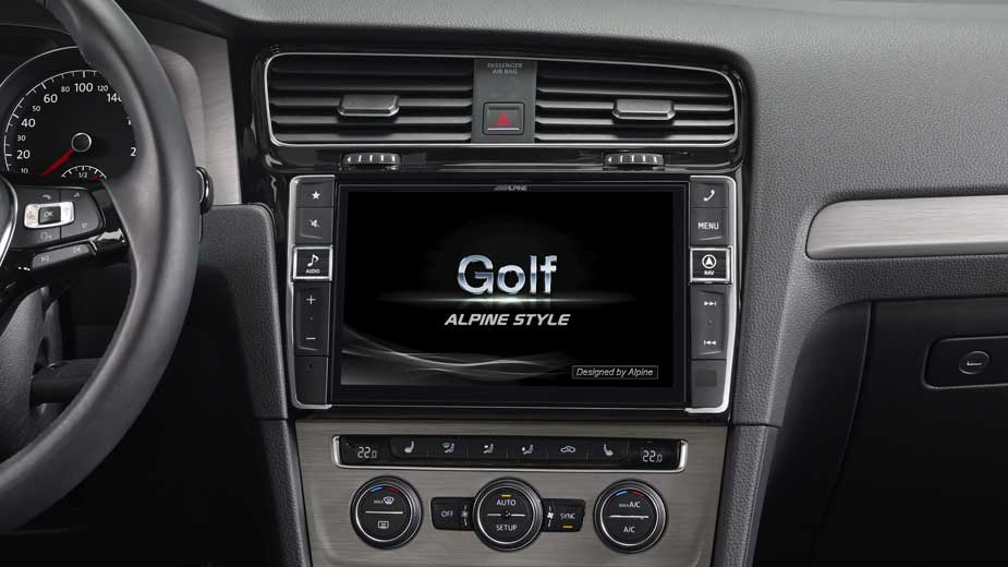 Golf 7 Navigation - Opening Screen - X901D-G7