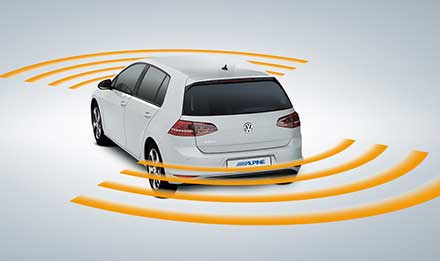 Golf 7 - Parking Sensors - X901D-G7