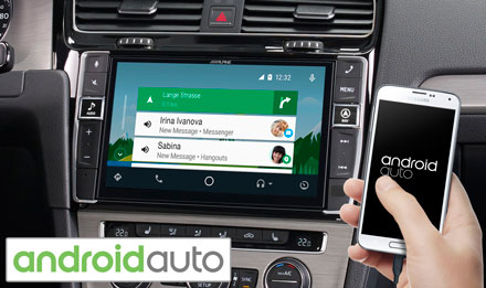 Golf 7 - Works with Android Auto - X902D-G7
