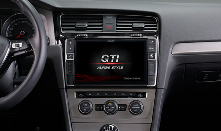 Golf 7 - Start-up Logo GTI - X903D-G7