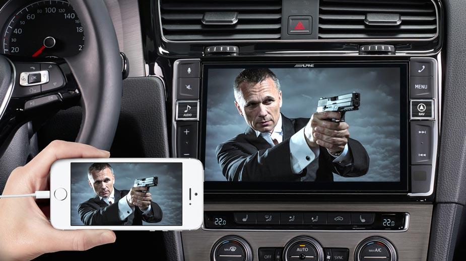 Golf 7 - Big Screen Entertainment - i902D-G7